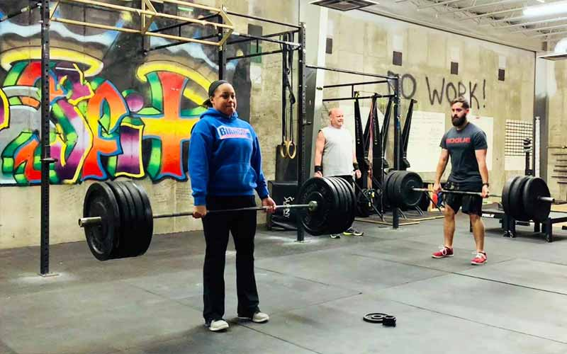 Barbell at Triple Crown Athletic